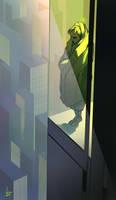 Down the window by Hykhen