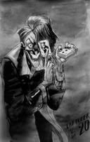 Inktober20 - Joker by Hykhen