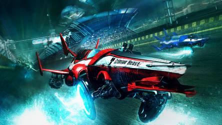 Speedway racers by Darkki1