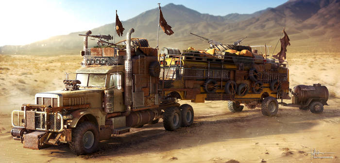 Wasteland Truck by Darkki1
