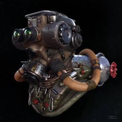 Hazmat headgear by Darkki1