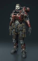 Armor dude by Darkki1