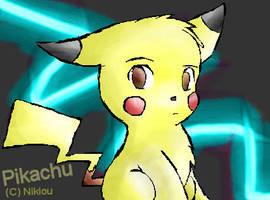 Pikachu by nikiou
