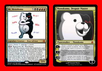 Monokuma - Magic Card Edition by Luigifan18