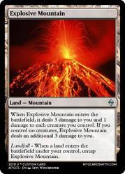 Explosive Mountain by Luigifan18
