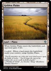 Golden Plains by Luigifan18