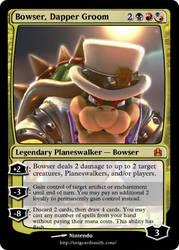 Bowser, Dapper Groom by Luigifan18