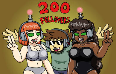 200 Follower Celebration by SuperTechno324
