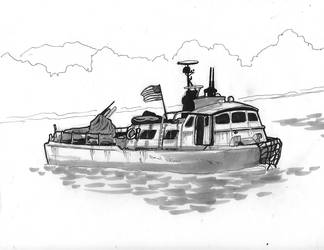 Swiftboat PCF MK2 by geijutsusakuhin