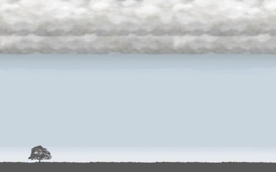 Tree Theme (Rain) - Gmail Theme by bogas04