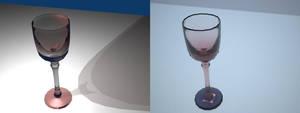 My Blender3D Goblet Comparison by EliqueStudios
