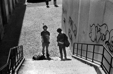 Les jongleurs de Lisbonne by leingad