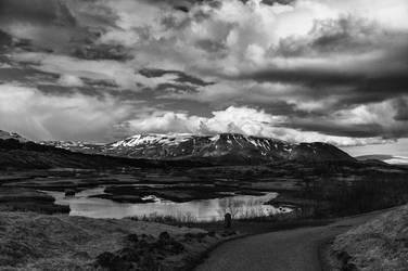 Icelandic Blackscape XV by leingad