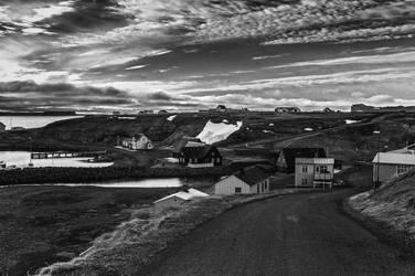 Icelandic Blackscape III by leingad
