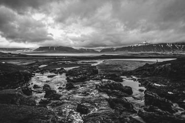Icelandic Blackscape I by leingad