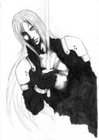 Sephiroth by Miko-the-moogle