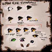 Wow eye tutorial 2018 by MaraMastrullo