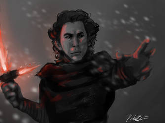 Kylo Ren by ArtIsEmotion98