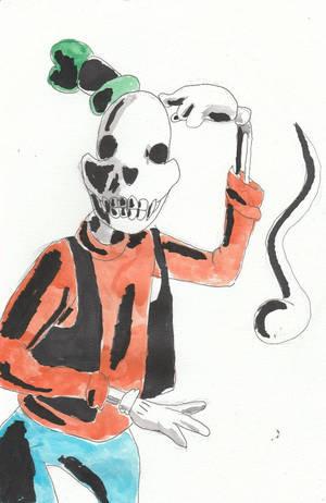 Skeleton Goofy by spiritguy