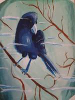 The Blue Bird by spiritguy