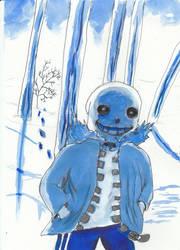 san snowscape by spiritguy