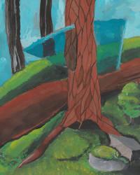 weird tree by spiritguy