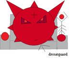 Droneguard-giftart by MiniKishyPenguins