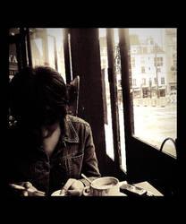 Cafe au Monmartre II by fluxuspoem