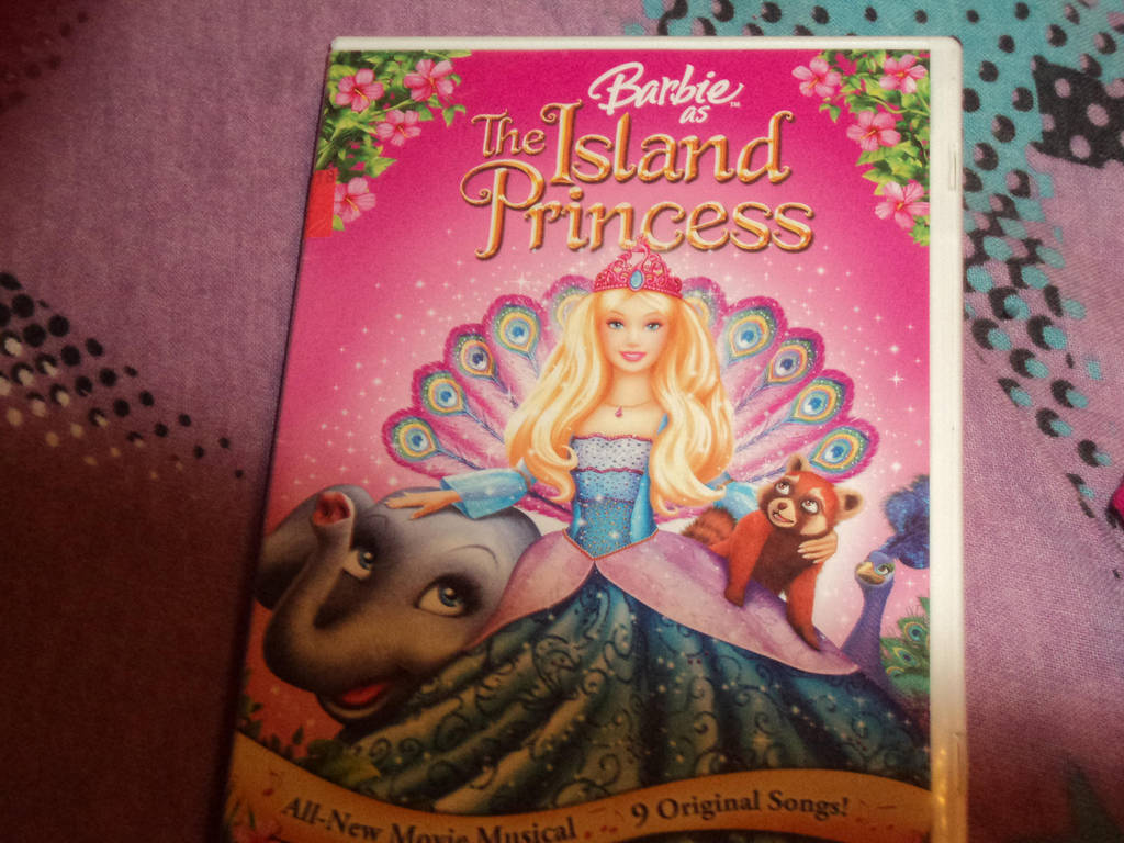 Barbie As The Island Princess Dvd By Katieluv2sing18 On Deviantart