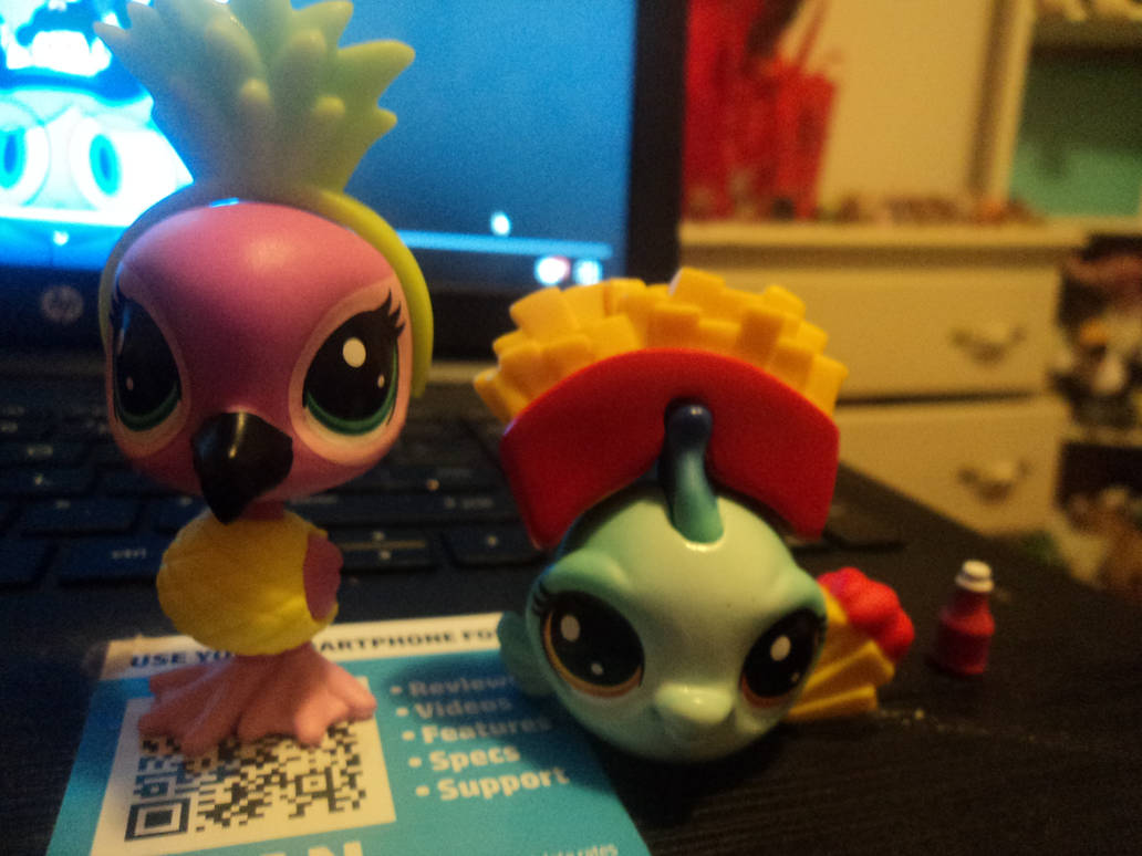 LPS Hungry Pets by katieluv2sing18