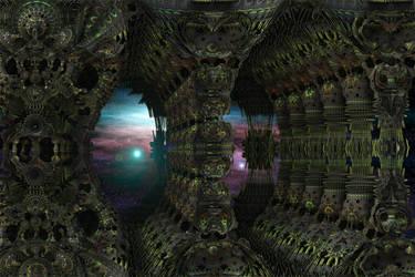 Halls of the Mecha Organic by GrahamSym