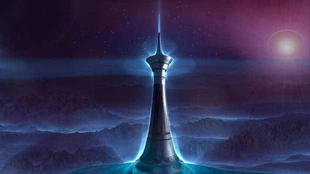 The Minaret by GrahamSym