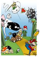 Mushroom Kingdom by Zorgia