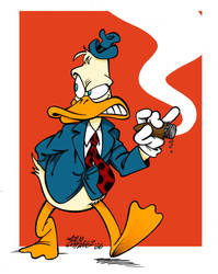 Howard the Duck by Zorgia