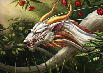 Garden Dragon by Nachiii