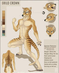 Erilo's reference sheet by shinigamigirl
