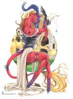 Milady by shinigamigirl