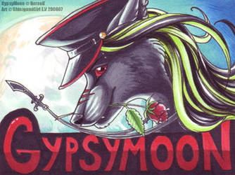 Gypsymoon's badge by shinigamigirl