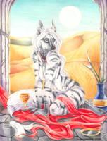 High Priestess by shinigamigirl