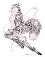 Sword Dancer by shinigamigirl