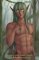 A not so wild elf. . . by Taralen