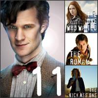 The Eleventh Doctor by Bellaminion