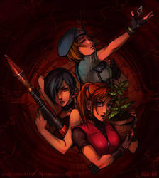 Maidens of the Menu by Soap-Committee