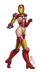 Erotic Earth Iron Girl Concept by umbrafox