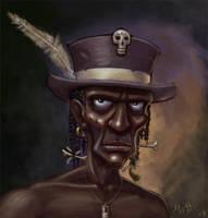 Voodoo Man by umbrafox