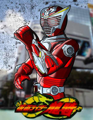 Kamen Rider Ryuki Color by granturismomh