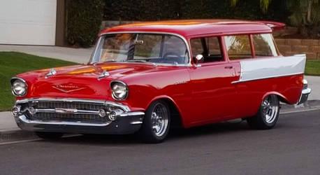 Chevrolet Handyman Wagon Classic Custom Car by granturismomh