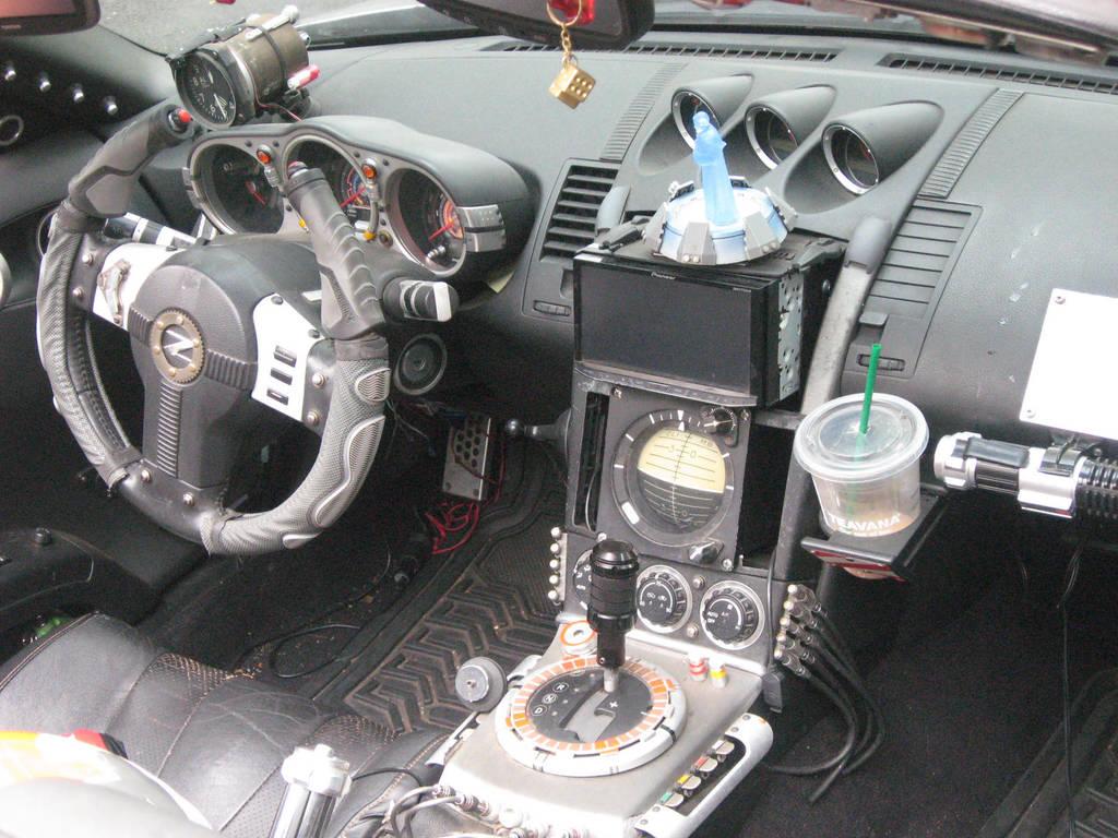 Nissan Fairlady Z Star Wars Sports Pod by granturismomh