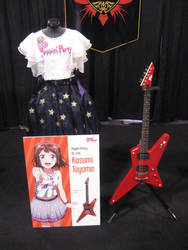 Bang Dream Girls Kausmi Toyama Guitar by granturismomh