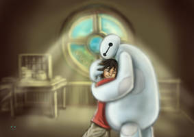 Baymax Hug~ by TrumanCheng